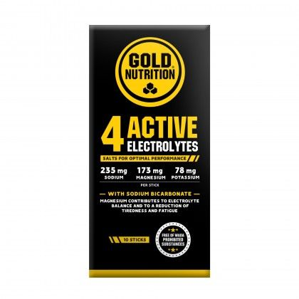 4 ACTIVE ELECTROLYTES 10 STICKS