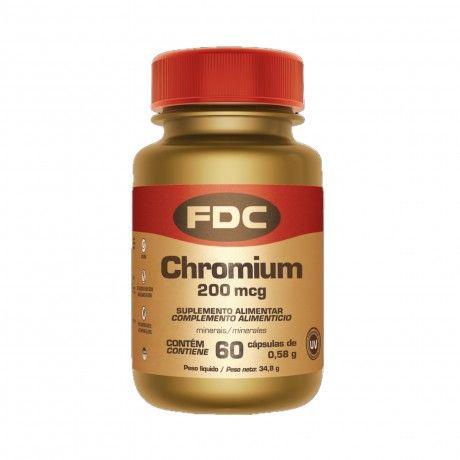 CHROMIUM 200MCG 60 COMPS.