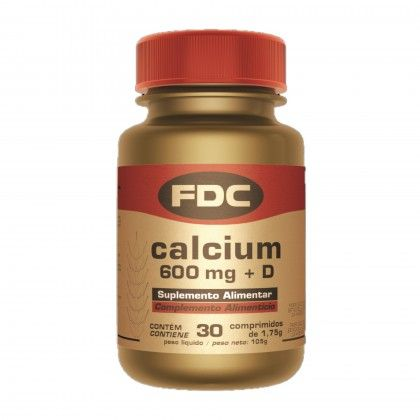 CALCIUM 600 MG + D 30 COMPS.
