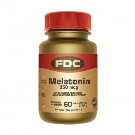 MELATONIN 950 MCG 60CAPS.