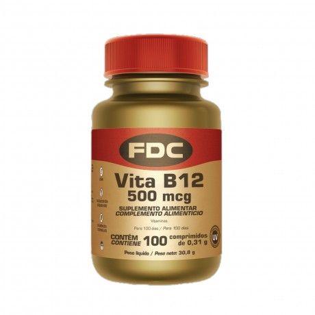 VITA B12 500MCG 100 COMPS.