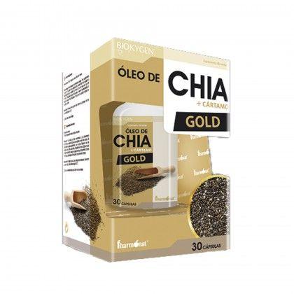 ÓLEO DE CHIA + CÁRTAMO GOLD 30CAPS