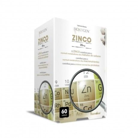 ZINC 25MG 60CAPS