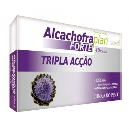 ALCACHOFRA FORTE 40 AMPOLAS