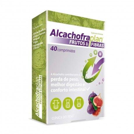 ALCACHOFRA PLAN FRUTOS & FIBRAS 40 COMPS.