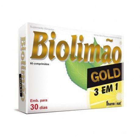 BIOLIMÃO GOLD 3 EM 1 60COMPS