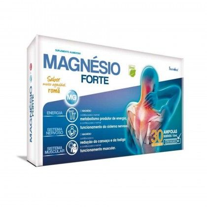 MAGNESIO FORTE 30 AMPOLAS