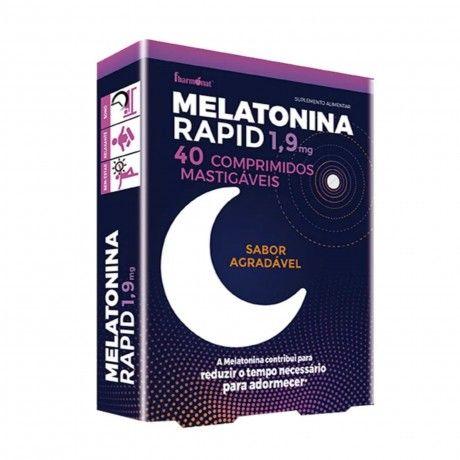 MELATONINA RAPID 1.9MG 40 COMP. MASTIGÁVEIS