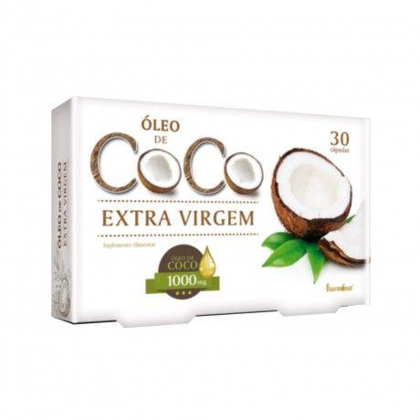 ÓLEO DE CÔCO EXTRA VIRGEM 1000MG 30CAPS