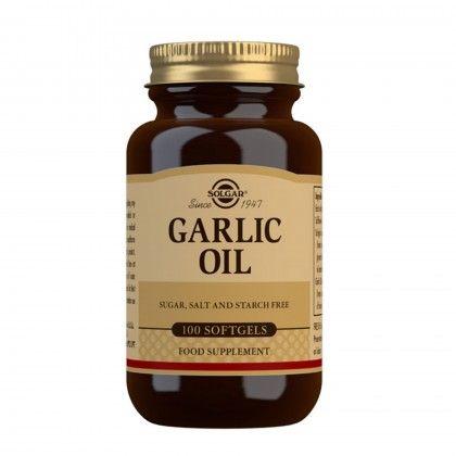 GARLIC OIL 100 SOFTGELS