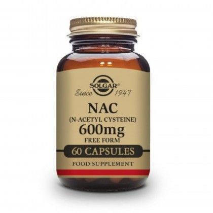 NAC (N-ACETIL, L-CISTEÍNA) 60 VCAPS