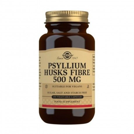 PSYLLIUM HUSKS FIBRE 500MG 200 VCAPS