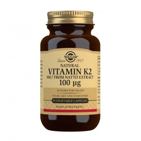 VITAMINA K2 100 MCG 50 VCAPS
