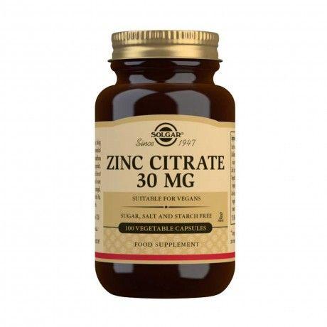 ZINC CITRATE 30MG 100 VCAPS