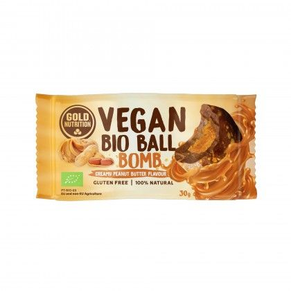 VEGAN BIO BALL MANTG. AMENDOIM 30G