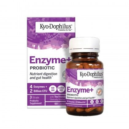ENZYME + PROBIOTIC 60 CAPS