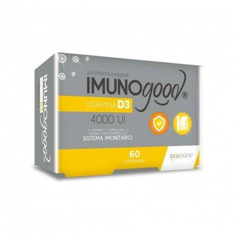 IMUNOGOOD VIT D3 4000UI 60 CAPS.