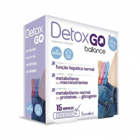 Detox Go 15 Ampolas