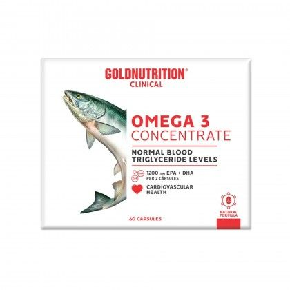 Omega 3 Concentrate 60 caps.