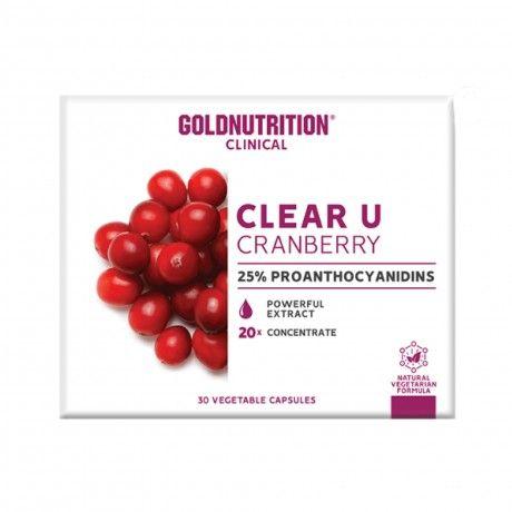 Clear-U Cranberry 30 VCAPS