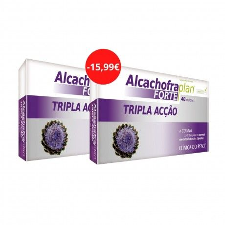 PACK ALCACHOFRA FORTE 2X40 AMPOLAS