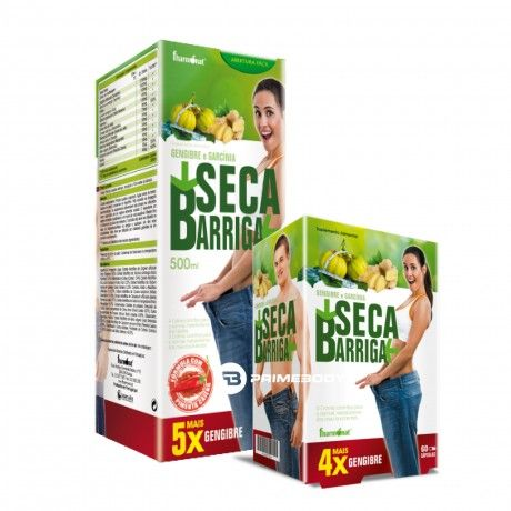 Pack Seca Barriga 500ml + 60 Caps