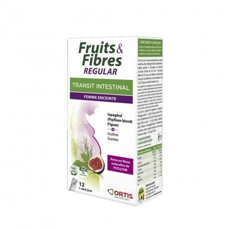 Frutos & Fibras Regular 12 Sticks