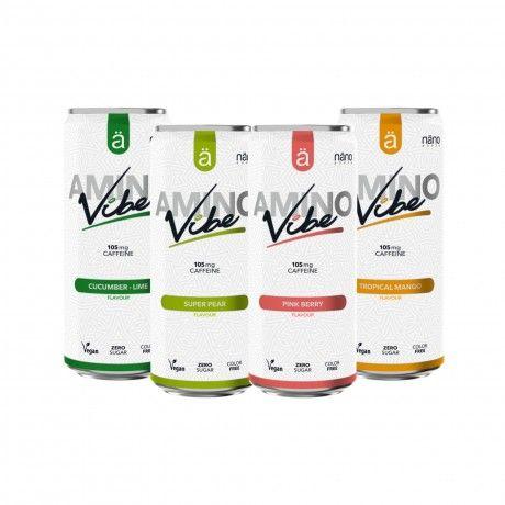 Pack Degustação Amino Vibe 4x330ml
