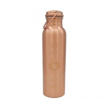 Botella Cobre Chakras 900ml