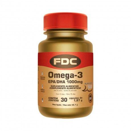 Omega-3 EPA/DHA 1000 mg 30 Caps