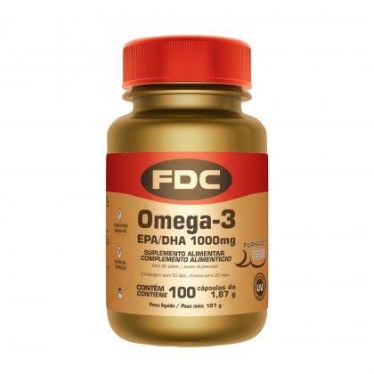 Omega-3 EPA/DHA 1000 mg 100 Caps