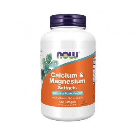Calcium & Magnesium 120 Softgels