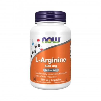 L-Arginine 500mg 250 VCaps