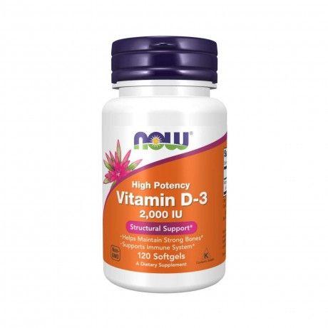 Vitamin D-3 2000IU 120 Softgels