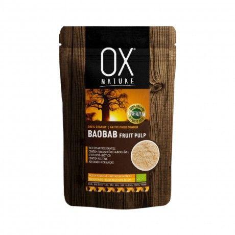 100% Organic Baobab Fruit Pulp 100g