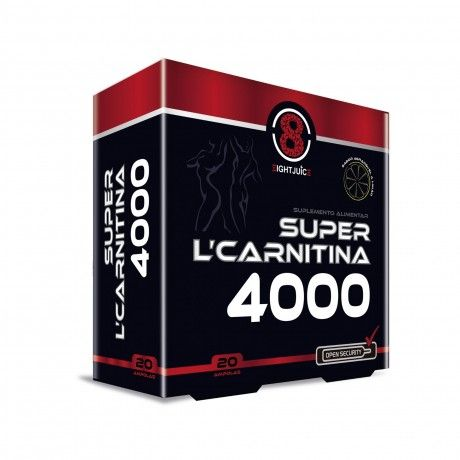 Super L-Carnitina 4000 20 Amp.