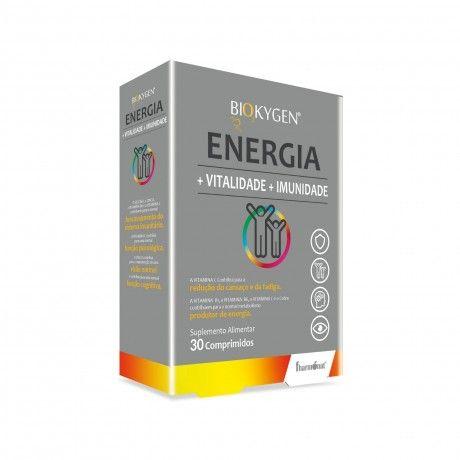 Energia + Vitalidade + Imunidade 30 Comp